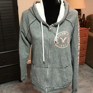 American Eagle Outfitters zippered hoodie.